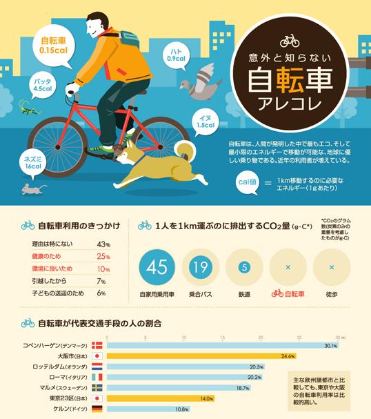 インフォグラフィックス:自転車ルールや事故に関するインフォグラフィック