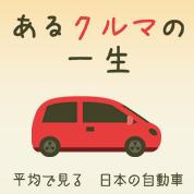 インフォグラフィックス:あるクルマの一生 -平均で見る日本の自動車 –