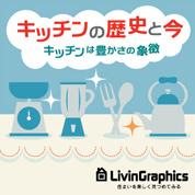 インフォグラフィックス:キッチンの歴史と今